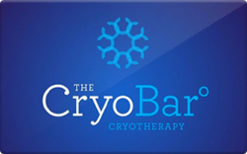 Sell The CryoBar Gift Card