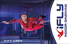 Buy iFly Indoor Skydiving Gift Cards | Raise