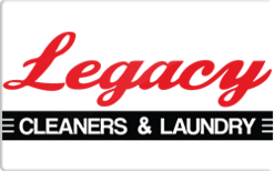 Sell Legacy Cleaners & Laundry Gift Card