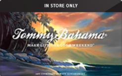 Sell Tommy Bahama (In Store Only) Gift Card