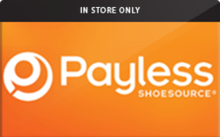 Buy Payless ShoeSource (In Store Only) Gift Card