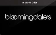 Buy Bloomingdale's (In Store Only) Gift Card