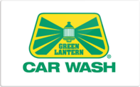 Buy Green Lantern Car Wash Gift Card
