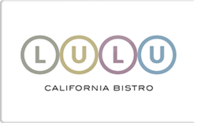 Buy Lulu California Bistro Gift Card