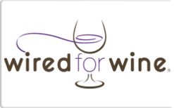 Sell Wired For Wine Gift Card