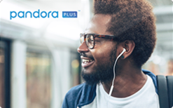 Sell Pandora Plus Radio - 3, 6, and 12 Month Subscription Gift Card