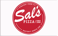 Sell Sal's Pizza Gift Card