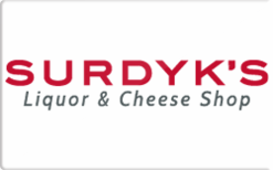 Sell Surdyk's Liquor & Cheese Shop Gift Card
