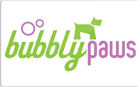 Buy Bubbly Paws Gift Card