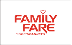 Sell Family Fare Grocery Gift Card