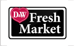 Buy D&W Fresh Market Grocery Gift Card