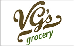 Sell VG's Grocery Gift Card