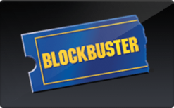 Buy Blockbuster Gift Card
