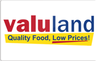 Buy Valuland Grocery Gift Card