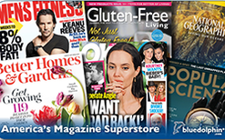Sell Magazines by Blue Dolphin Gift Card