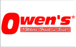 Sell Owen's Market Grocery Gift Card