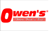 Buy Owen's Market Grocery Gift Card