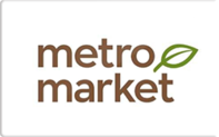 Buy Metro Market Grocery Gift Card