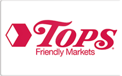 Sell Tops Friendly Markets Gift Card