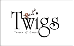 Sell Twigs Tavern & Grille Gift Card