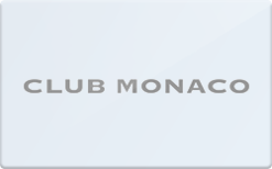 Sell Club Monaco Gift Card