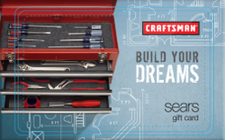 Sell Craftsman Tools Gift Card