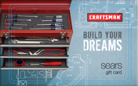 Buy Craftsman Tools Gift Card
