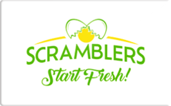 Sell Scramblers Gift Card
