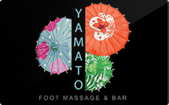 Buy Yamato Spa and Bar Gift Card