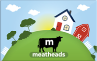 Meatheads burger and fries gift card taxon