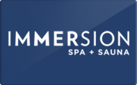 Buy Immersion Spa Gift Card