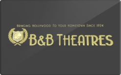 Sell B&B Theatres Gift Card