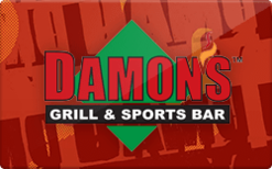 Sell Damon's Grill & Sports Bar Gift Card