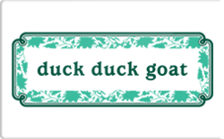 Sell Duck Duck Goat Gift Card