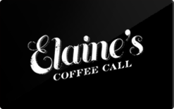Sell Elaine's Coffee Call Gift Card