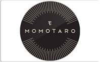 Momotaro gift card taxon