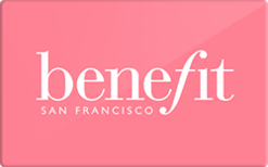Benefit Cosmetics Gift Card - Check Your Balance Online | Raise.com