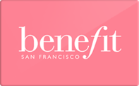 Buy Benefit Cosmetics Gift Card