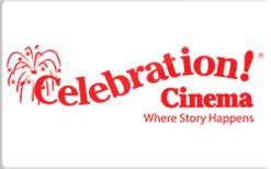 Celebration! Cinema Gift Card - Check Your Balance Online | Raise.com