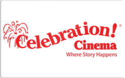 Sell Celebration! Cinema Gift Card