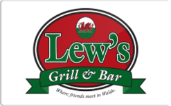 Sell Lew's® Grill & Bar Gift Card