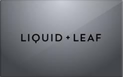 Buy Liquid & Leaf Gift Card