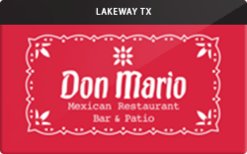 Sell Don Mario Mexican Restaurant Gift Card