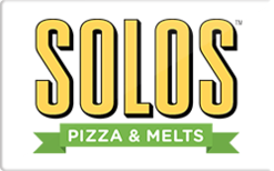 Buy Solos Pizza Cafe Gift Card