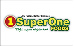 Sell Super One Foods Gift Card