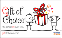 Buy Gift of Choice Gift Card