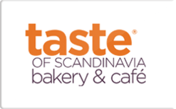Buy Taste of Scandinavia Bakery & Cafe Gift Card