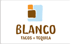 Sell Blanco Tacos & Tequila Gift Card