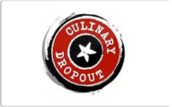 Sell Culinary Dropout Gift Card