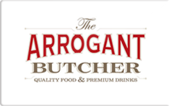 Buy The Arrogant Butcher Gift Card